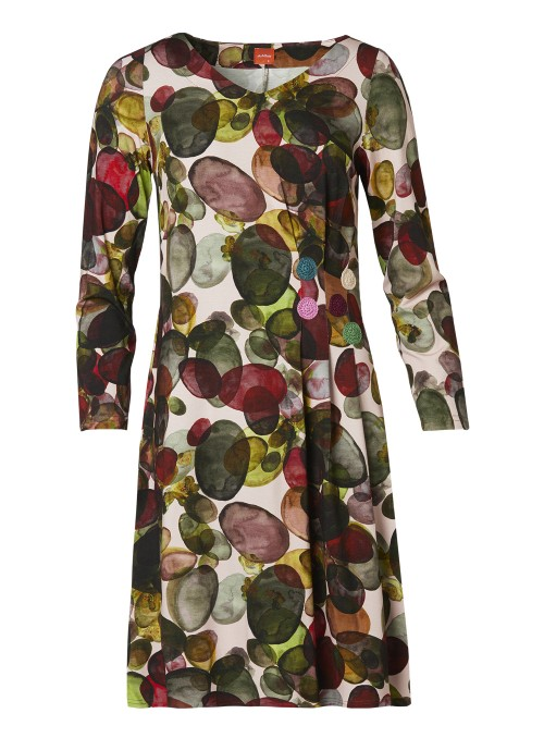 DuMilde Kjole Poulas Colourful Dots