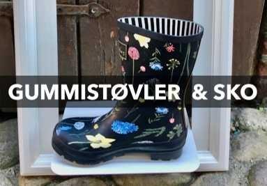 Gummistøvler og sko