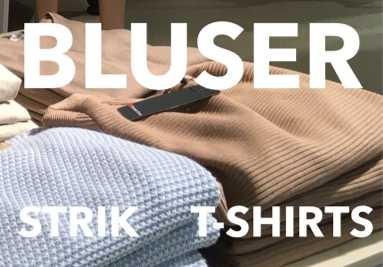 Bluser Strik T-shirts